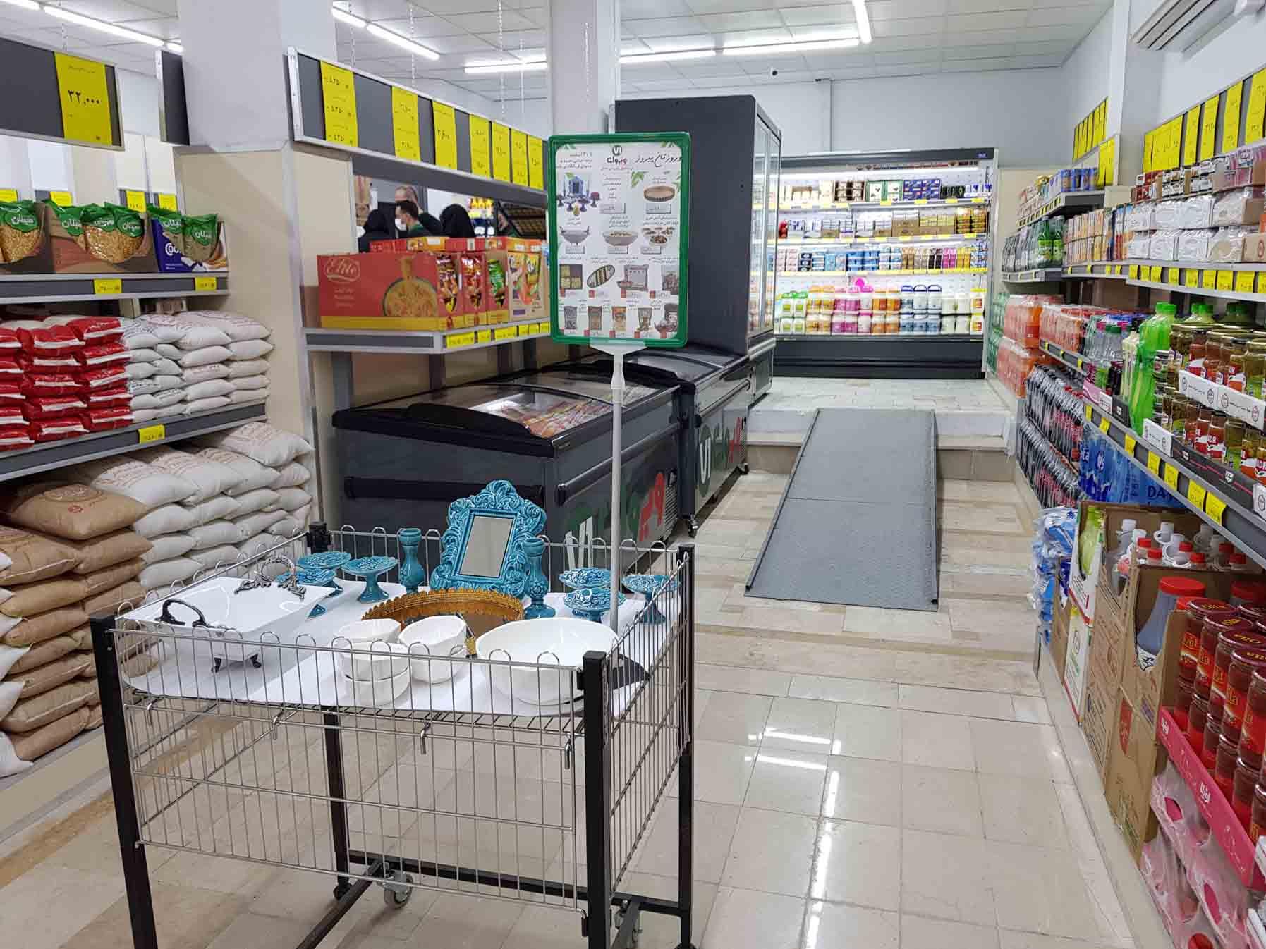 فروشگاه های زنجیره ای تخفیفی ویوان در بریانک افتتاح گردید